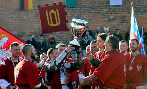 Zwycięska kadra podczas zawodów IMCF. fot. Damian Łakomski