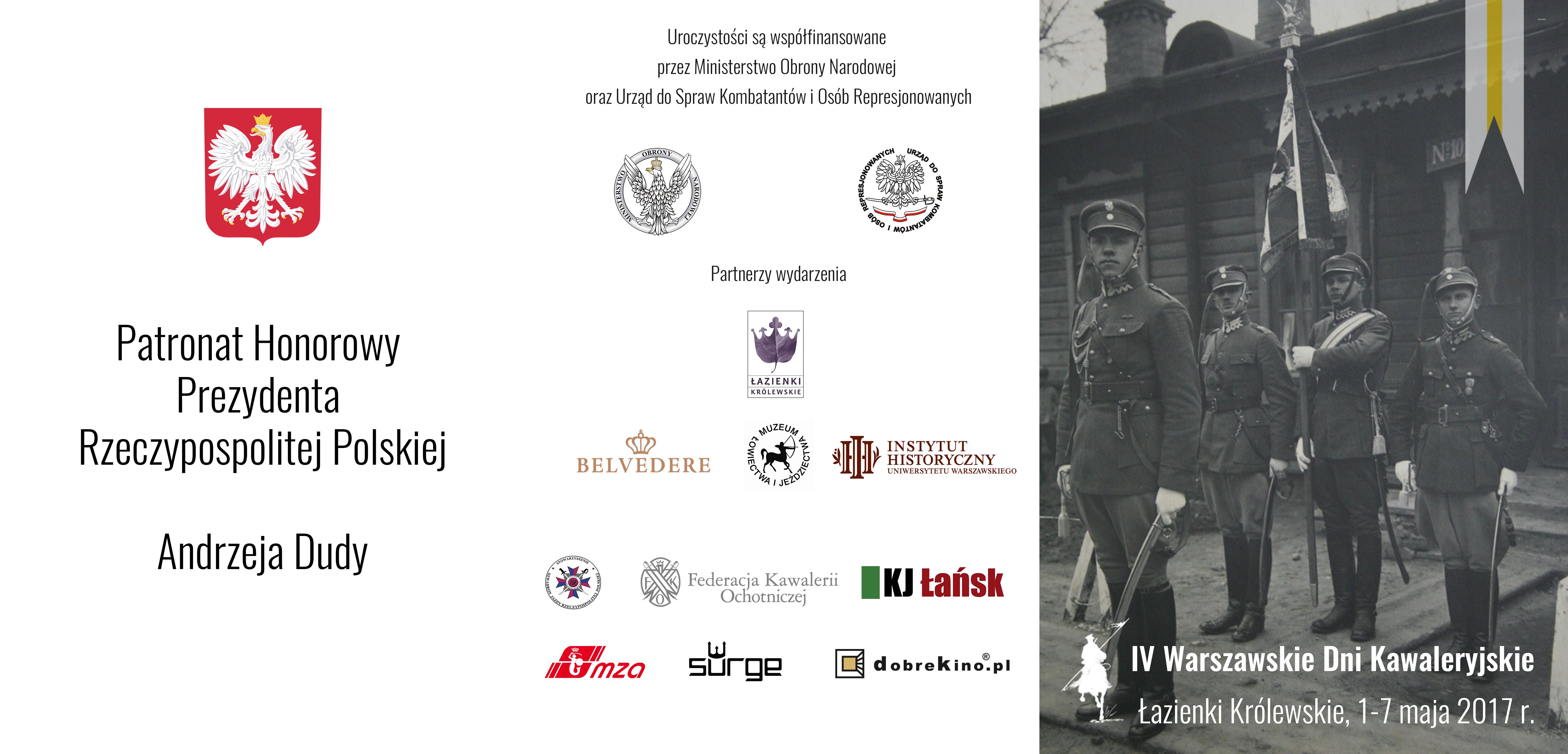 Iv Warszawskie Dni Kawaleryjskie 2017 Historiaorgpl