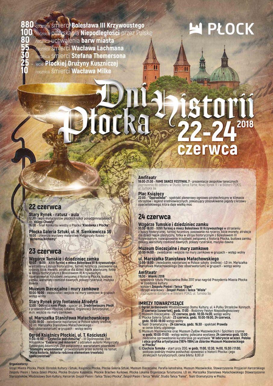 Xxvi Turniej O Miecz Bolesława Ii Krzywoustego Dni Historii Płocka